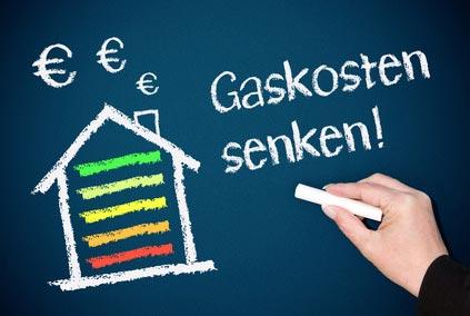 Gasanbieter dauerhaft günstig