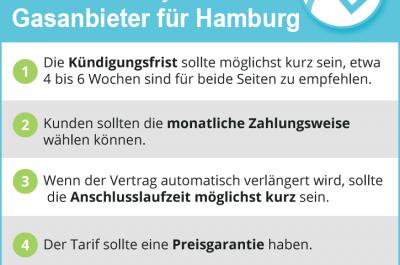 Gasanbieter Hamburg 2021 – Schluss mit teurem Gas! Jetzt Anbieter vergleichen