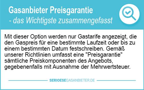Gasanbieter Hamburg Preisgarantie